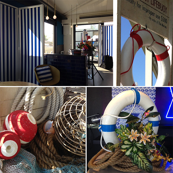 Nautical themed party for Zurich Insurance at Captain Baxter, St Kilda - March 2014