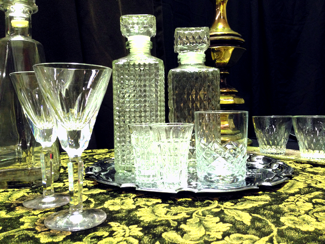 Event Styling - Glassware & Decanters