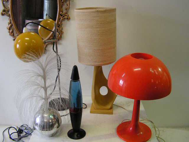 Table Lamps - 1970's Collection
