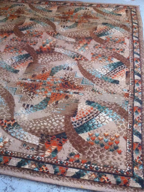 RUG0083 RUG #083, Multicolour 1970s or 30s 3.6m x 3.1m $125