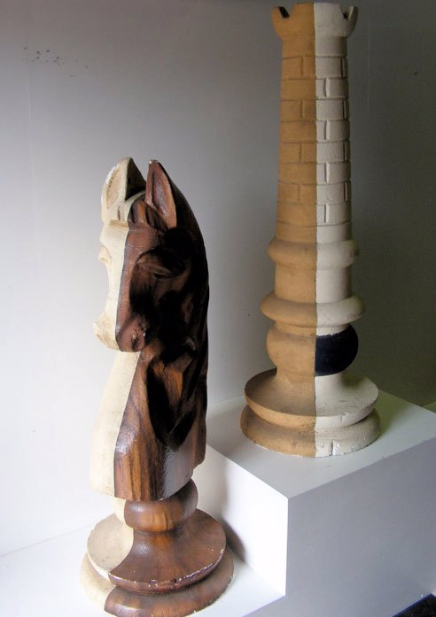 CHESS PIECES, Styrene 1.2m High - Knight (CHE0001) & Castle (CHE0002) $87.50 each