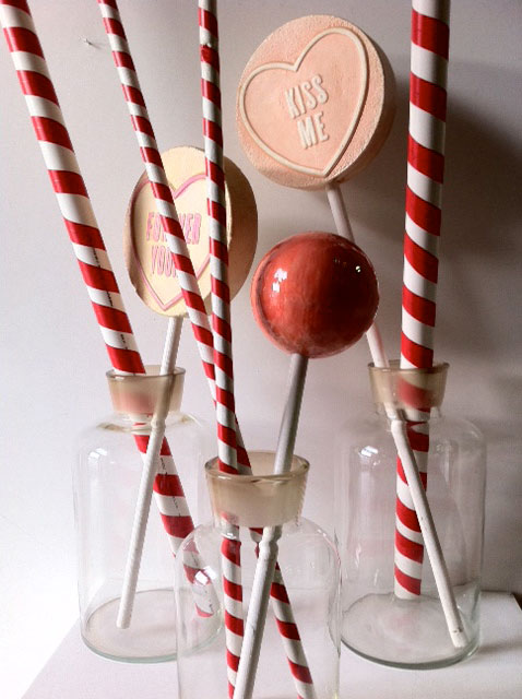 Event Styling - Large Lolly Jars with Candy Straws