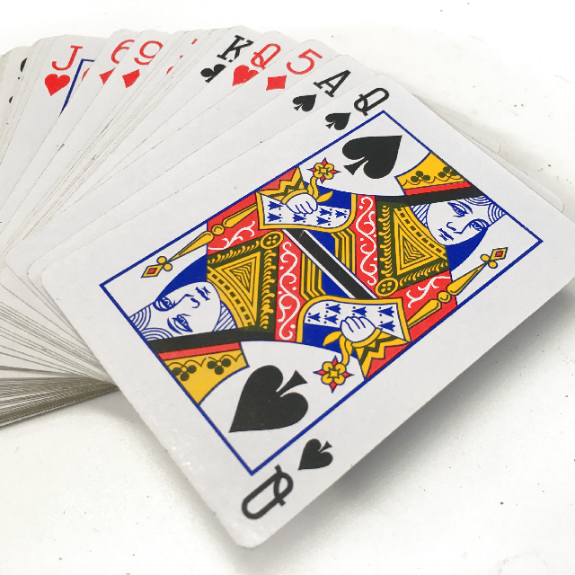 PLA0052 PLAYING CARDS, Standard Size 6 x 9cm High $2.50