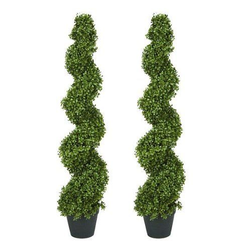 GRE0022 GREENERY, Topiary - Boxwood Spiral - 90cm H $30