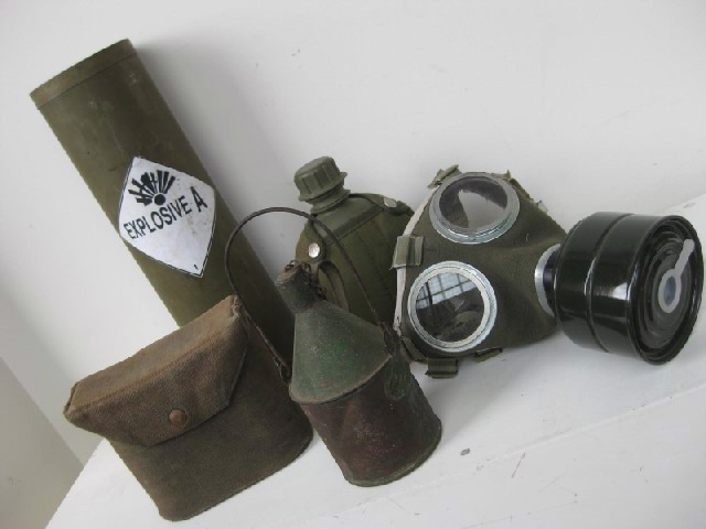 Setup of Army Props