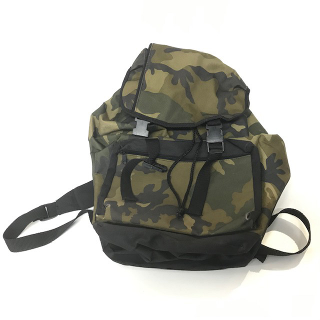 BAC0102 BACKPACK, Army - Camouflage $12.50
