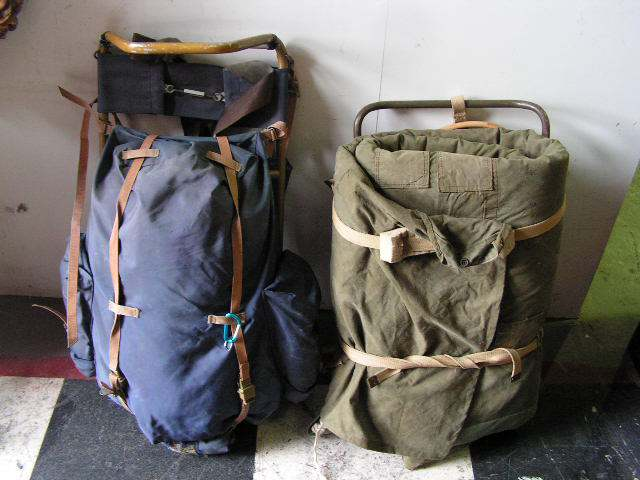 BACKPACKS BAC0100 BLUE $18.75 & BAC0101 BEDROLL $22.50