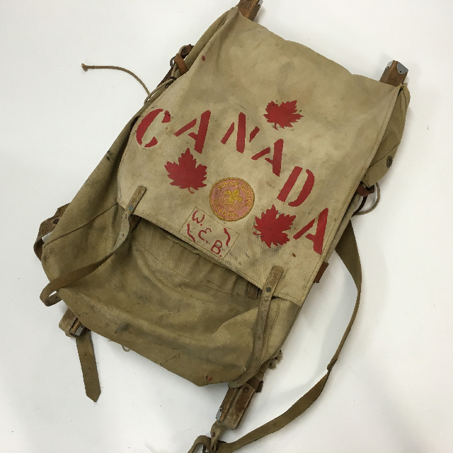 BAC0104 BACKPACK (Rucksack), Canvas - Canada $30