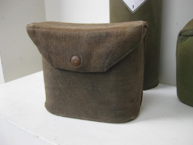 BIN0003 BINOCULAR CASE, brown canvas $7.50