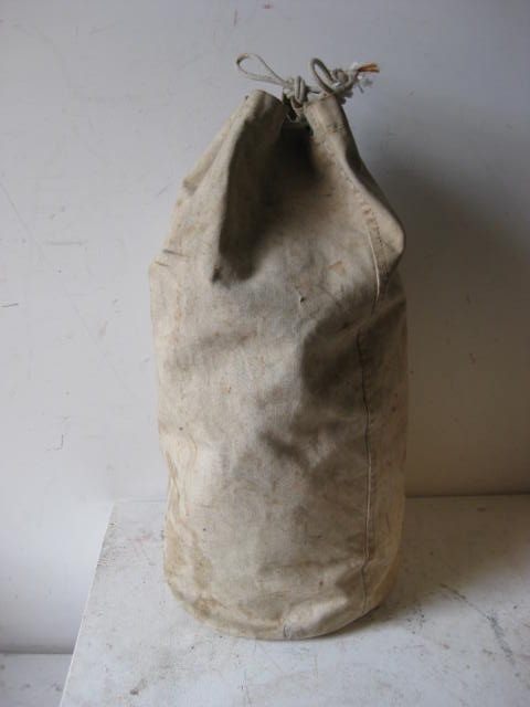 DUF0005 DUFFLE BAG, Natural Canvas $15