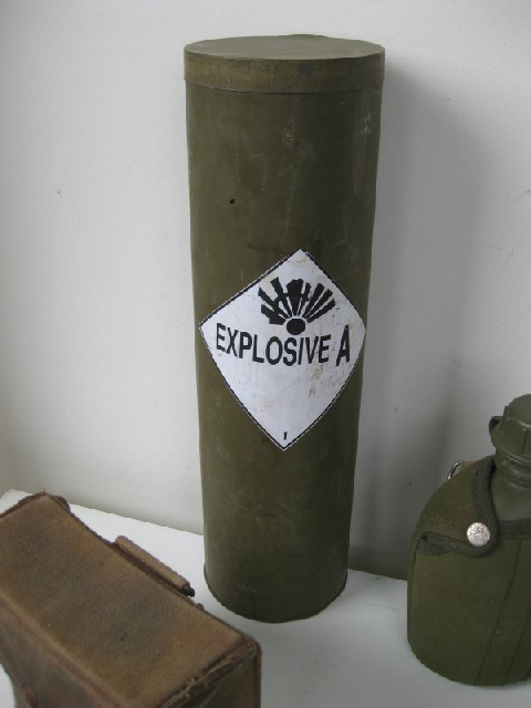 EXP0003 EXPLOSIVES, Cannister - Army Green $8.75