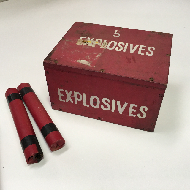 EXP0009 EXPLOSIVES, Box Small $22.50