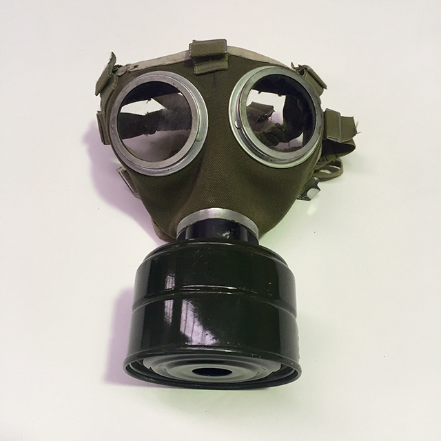 GAS0001 GAS MASK, Army Green $12.50