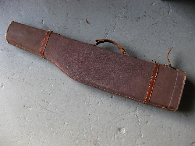 RIF0001 RIFLE CASE, Brown Canvas $20