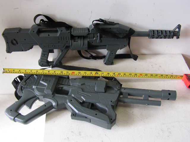 WEA0002 WEAPON, Machine Gun - Plastic Toy Gun $5