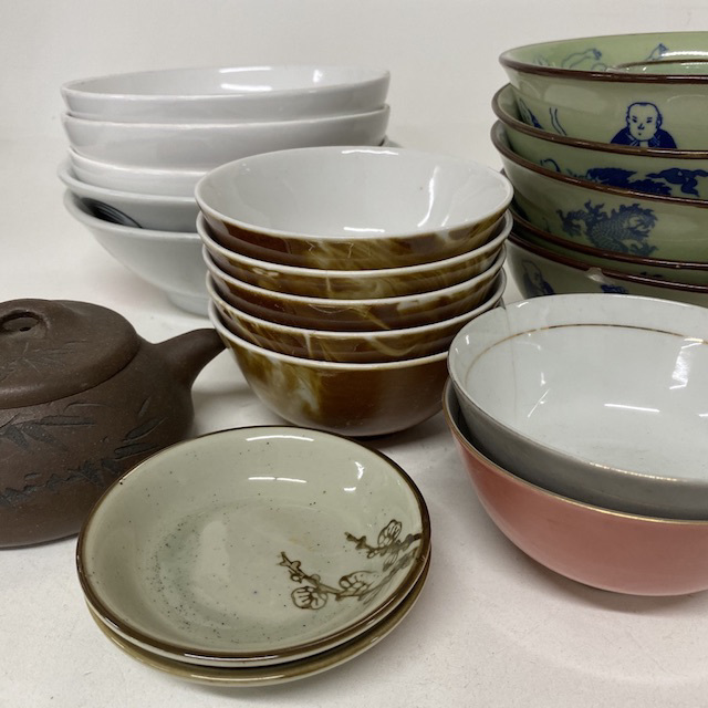 CRO0018 CROCKERY, Asian Style - Miscellaneous $1.25