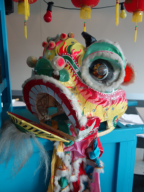CHI0002 CHINESE DRAGON, Head Only $75