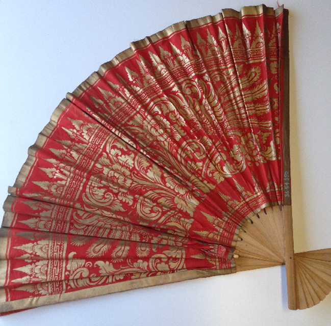 FAN0202 FAN, Asian Style - Large Red and Gold 1m Wide $15