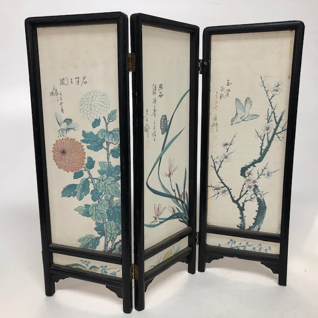 SCR0040 SCREEN, Ex Small Asian Floral 36cm H $6.25