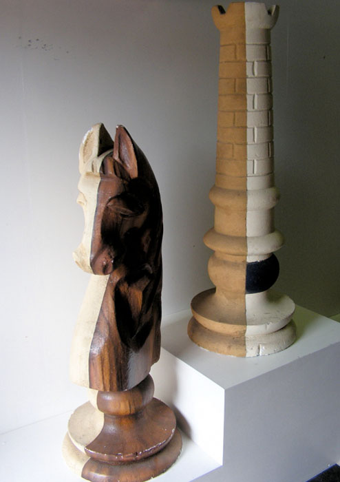 CHESS PIECE, Styrene - 1.2m high Knight (CHE0001) & Castle (CHE0002) $87.50 Each