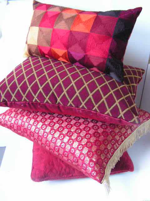Cushions - Red