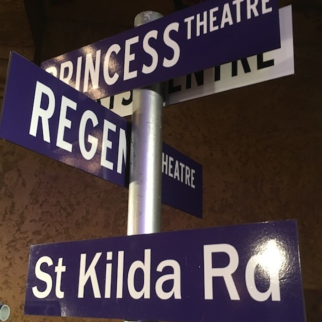 SIG0367 SIGN, Street / Road Sign - Melbourne Theatre $12.50