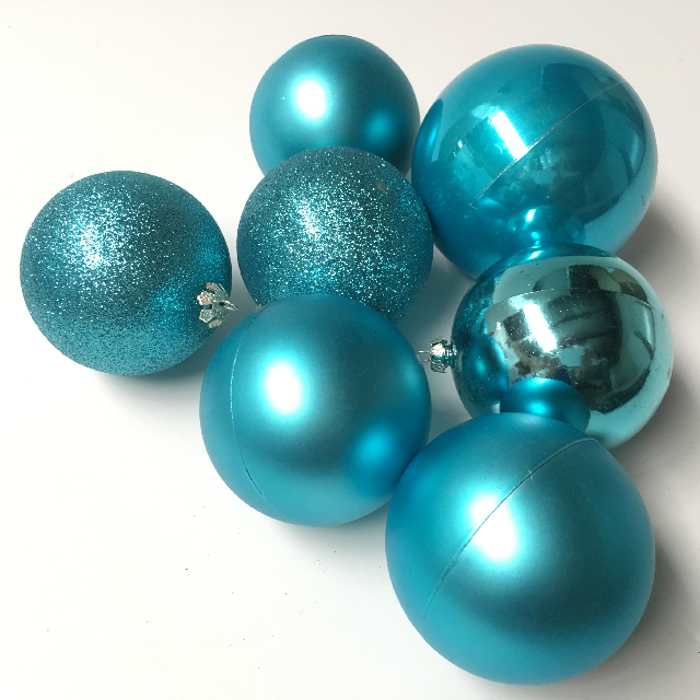 BAU0003 BAUBLE, Aqua Blue $0.25
