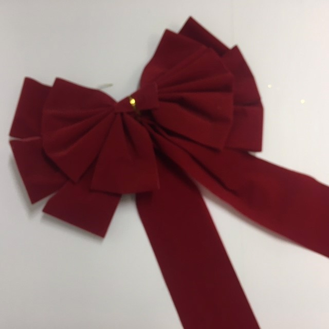 BOW0053 BOW, Large Red Assorted - Approx 50cm Long $3.75