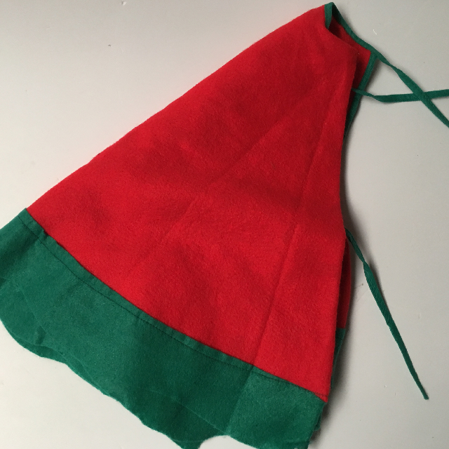 CHR0055 CHRISTMAS TREE SKIRT, Red Green $5