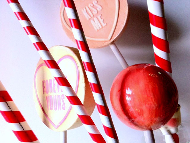 Mixture of Candy Canes & Oversized Lolly's