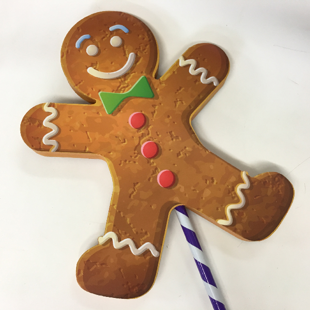 LOL0015 LOLLY, Gingerbread Man 45cm H $22.50