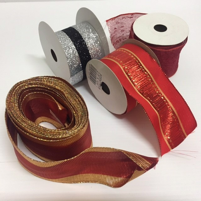 RIB0001 RIBBON, Premium Rolls Assorted $3.75