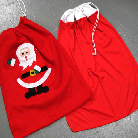 SAN0010 SANTA SACK, Assorted $5
