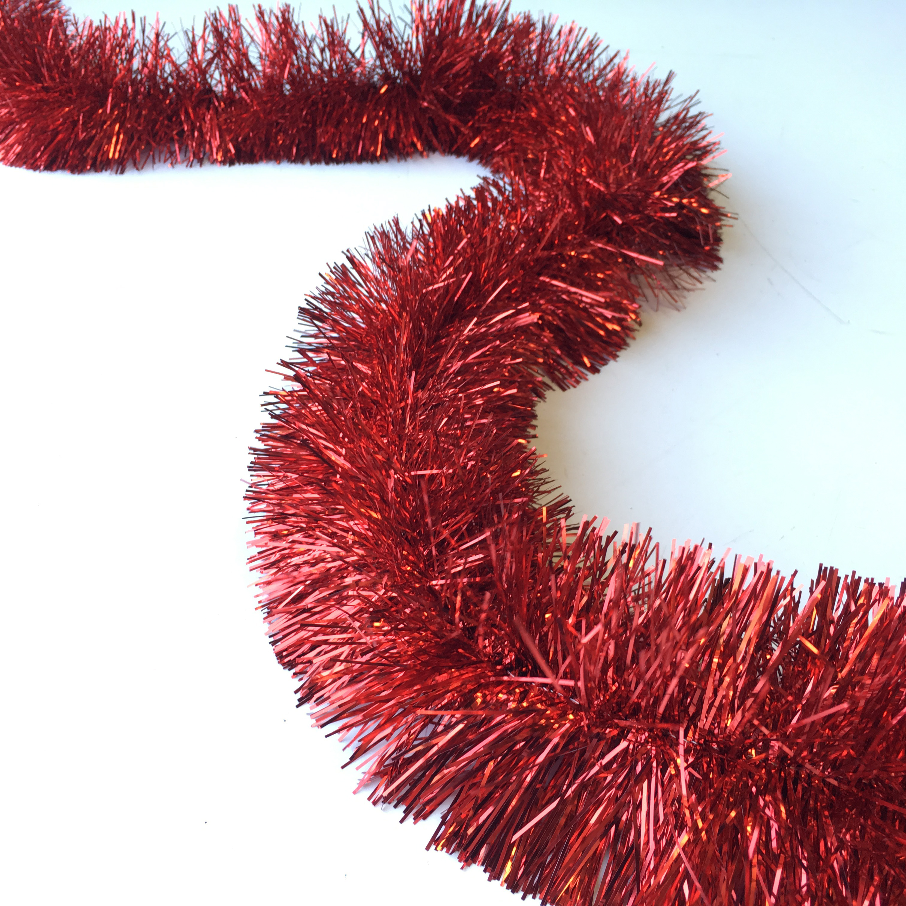 TIN0051 TINSEL, Red $1.25