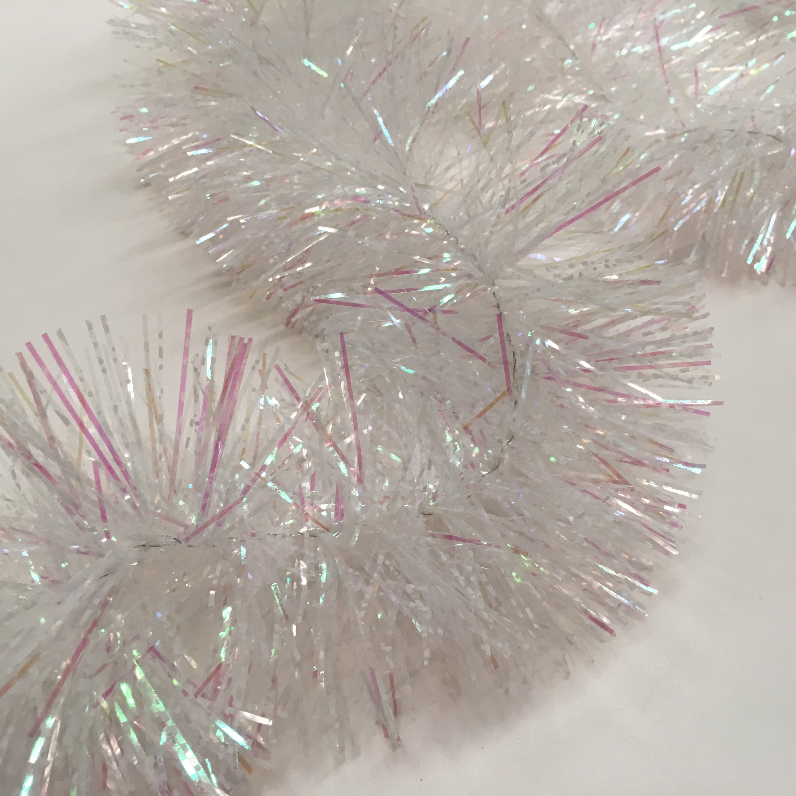 TIN0052 TINSEL, White $1.25