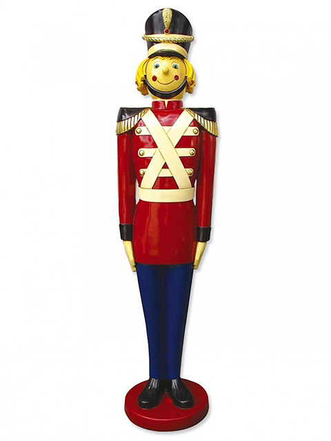 TOY0001 TOY SOLDIER, Life Size Resin Statue 3D 1.7m H $150