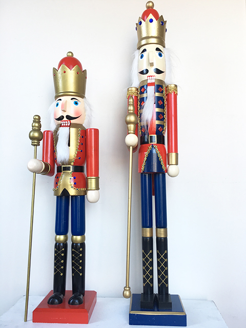 TOY SOLDIER (NUTCRACKER), Wooden 90cm (TOY0101) $30 & 110cm (TOY0102) $37.50