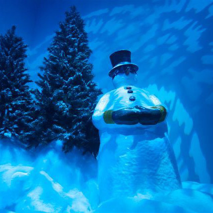 Event Styling - Snowman in Winter Wonderland
