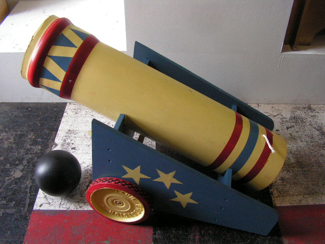 CAN0200 CANNON, Circus Style $40