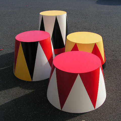 Circus Plinths Assorted