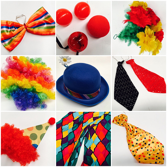 COS0001 COSTUME PROP, Clown Accessory $3.75