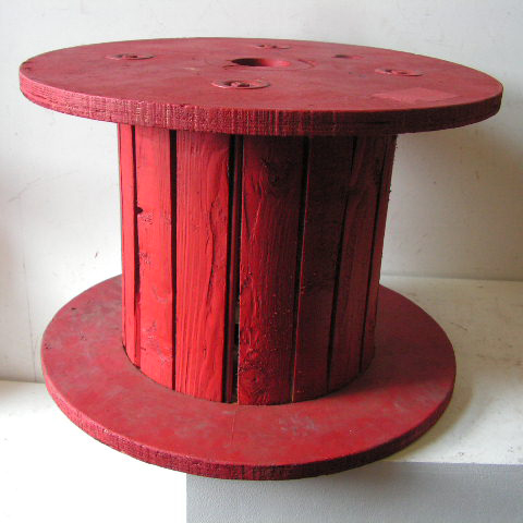 SPO0004 SPOOL / COTTON REEL (Oversize) Red 65x45cm high $25