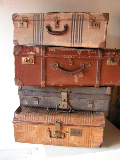 Vintage Suitcases - Medium Assorted (Priced Separately)