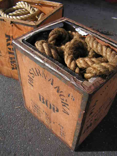 ROP0005 ROPE, Box Lot - Thick Lengths $37.50