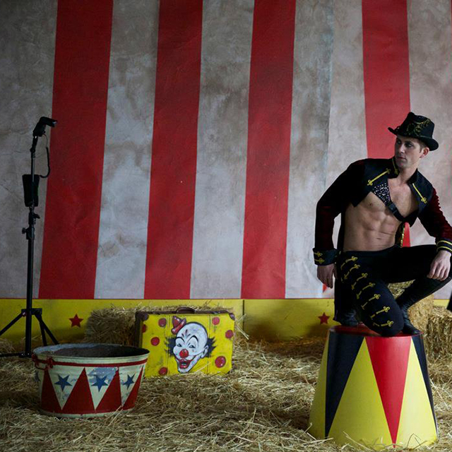 Photoshoot Styling - Circus Theme