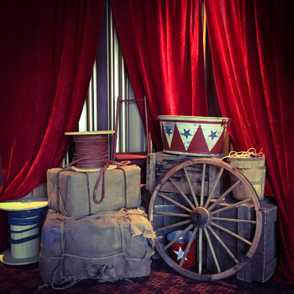 Event Styling - Vintage Circus Theme