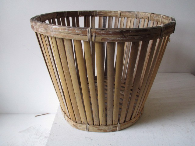 BAS0016 BASKET, Bamboo Storage Medium $10