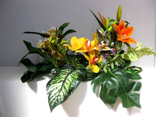 CENTREPIECE, Custom Tropical Flower Display (POA)