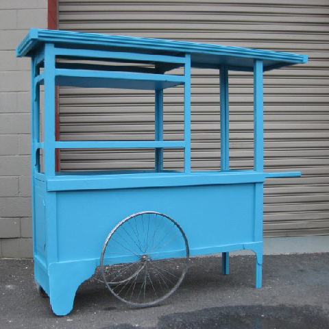 CAR0002 CART, Aqua - Large 2m Long x 65cm x 1.8m High $312.50