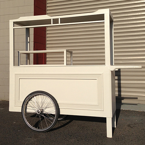 CAR0003 CART, Cream - Large 2m Long x 65cm x 1.8m High $312.50